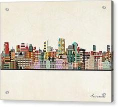 Sacramento California Acrylic Print