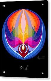 Sacred Acrylic Print by Angela Treat Lyon