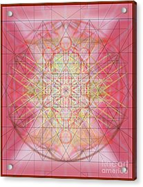 Sacred Symbols Out Of The Void 1b Acrylic Print by Christopher Pringer