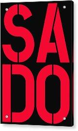 Sado Acrylic Print