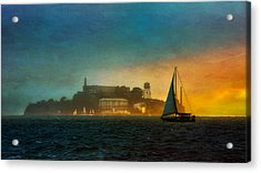 Sailing By Acrylic Print