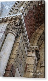 Saint Sernin Basilica Architectural Detail Acrylic Print