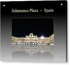 Salamanca Plaza Spain Acrylic Print