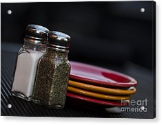 Salt And Pepper Acrylic Print