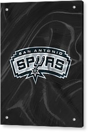 San Antonio Spurs Acrylic Print by Afterdarkness