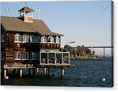 San Diego Bay Acrylic Print by Christopher Woods