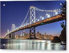 San Francisco City Lights Acrylic Print by JR Photography