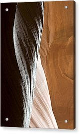 Sandstone Abstract Acrylic Print by Mike Irwin
