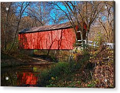 Sandy /creek Covered Bridge, Missouri Acrylic Print