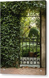 Savannah Gate Acrylic Print