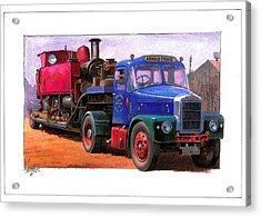 Scammell Highwayman. Acrylic Print by Mike  Jeffries