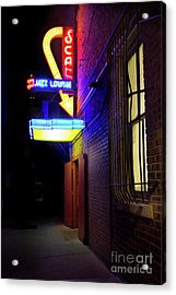 Acrylic Print featuring the photograph Scat Jazz Lounge 1 by Elena Nosyreva