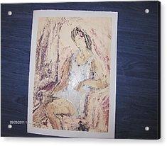 Schita 1 Acrylic Print by Ilie  Ardeleanu