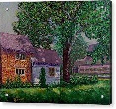 Schwabs Fudge Acrylic Print by Stan Hamilton