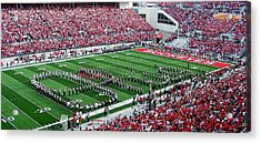 Script Ohio Acrylic Print by Peter  McIntosh