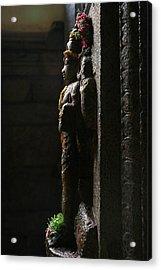 Sculpture Acrylic Print by Deepak Pawar