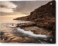 Seacombe Bay Acrylic Print