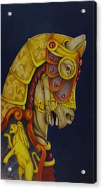Searching For The Brass Ring No.10 Acrylic Print