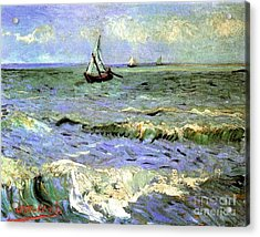 Seascape At Saintes-maries 2 Acrylic Print