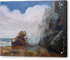Seascape Acrylic Print by Eleonora Mingazova