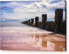 Seascape Acrylic Print by Martin Newman