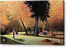 Season Of Abundance And Joy Acrylic Print by Neil Woodward