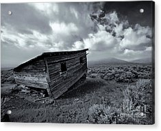 Seen Better Days Acrylic Print by Mike Dawson