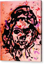 Self Portrait Acrylic Print by Natalie Holland