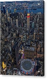 September 11 Nyc Tribute Acrylic Print