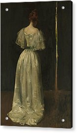 Seventeenth Century Lady Acrylic Print by William Merritt Chase