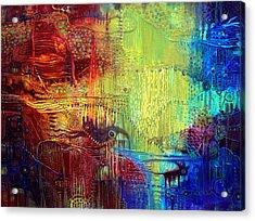 Shadows Of The Dream I Acrylic Print by Lolita Bronzini