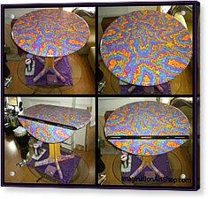 Sharpie Star Table Acrylic Print