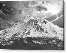Acrylic Print featuring the photograph Shasta by Athala Carole Bruckner