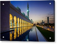 Sheikh Zayed Grand Mosque Acrylic Print
