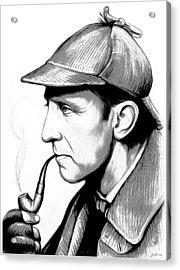 Sherlock Holmes Acrylic Print