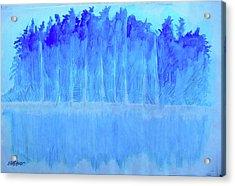 Shivering Timbers Acrylic Print