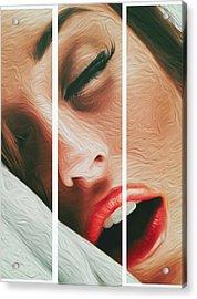 Side Kiss- Acrylic Print
