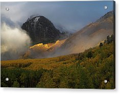 Acrylic Print featuring the photograph Siever's Mountain by Steve Stuller