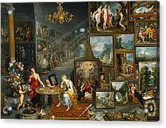 Sight And Smell Acrylic Print by Jan Brueghel the Elder