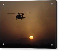 Sikorsky Uh-60 Black Hawk Acrylic Print