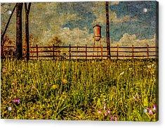 Siluria Cotton Mill Acrylic Print by Phillip Burrow