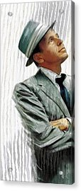 Sinatra Acrylic Print by James Robinson