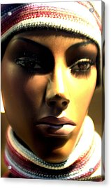 Sinead Acrylic Print by Jez C Self