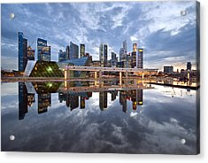 Singapore Cityscape Acrylic Print