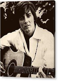 Singer Bobby Sherman 1969 Acrylic Print