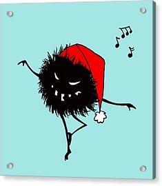 Singing And Dancing Evil Christmas Bug Acrylic Print