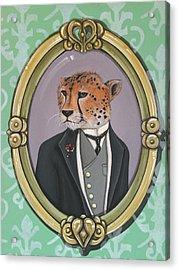 Sir Pettingwise IIi Acrylic Print by Jude Labuszewski