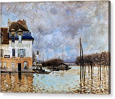Sisley: Flood, 1876 Acrylic Print by Granger