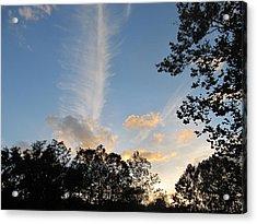 Sky Art Acrylic Print by Digital Art Cafe