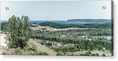Acrylic Print featuring the photograph Sleeping Bear Dunes National Lakeshore by Alexey Stiop